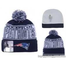 New England Patriots Beanies Knit Hats Winter Caps Silver Thread Wool