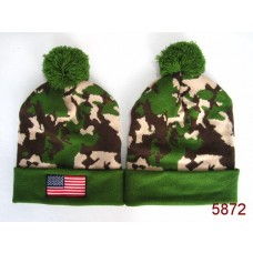 American Flag Knit Hats Camo 003