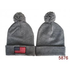 American Flag Knit Hats Navy 007