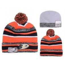 Anaheim Ducks Beanies Knit Hats Winter Caps Stripe