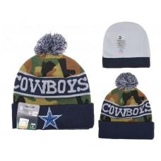 NFL Dallas Cowboys New Era Beanie Camo Knit Hats