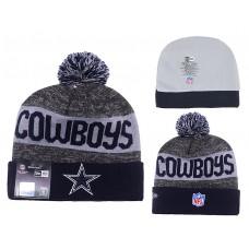 NFL Dallas Cowboys New Era Gray/Navy Blue Beanie Knit Hats
