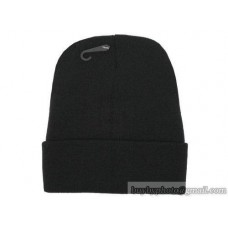 Blank Beanie Knit Hats Caps Black 4