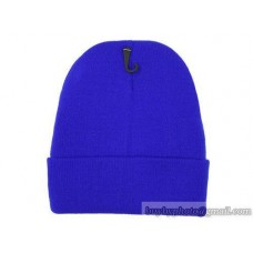 Blank Beanie Knit Hats Caps Blue 6