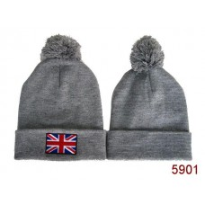British Flag Beanies Knit Hats Coffee 007