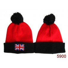 British Flag Beanies Knit Hats Navy 006