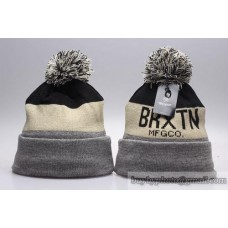 Brixton Beanies Knit Winter Caps Beige Black Gray