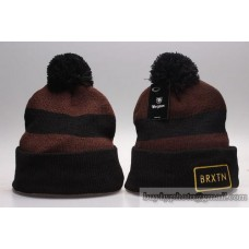 Brixton Beanies Knit Winter Caps Brown