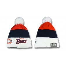 Chicago Bears NFL Beanies Knit Hats White