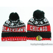 Chicago Blackhawks Beanies Knit Hats (1)