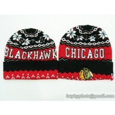 Chicago Blackhawks Beanies Knit Hats (2)