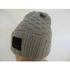 Diamond Beanies Knit Hats Gray 006