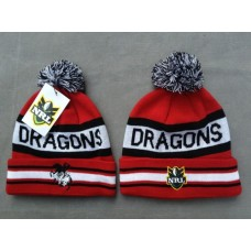 DRAGONS Beanies Hats NRL Knit Hats