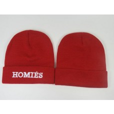 Homies Beanies Knit Caps Red 010