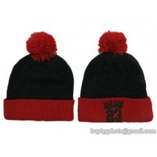Jordan Beanies Knit Hats Black/Red 102