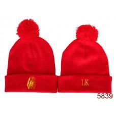 Last Kings Beanies Knit Hats Red 002