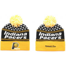 NBA Indiana Pacers Beanies Knit Hats Yellow