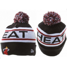NBA Miami Heat New Era Beanie Knit Hats  (2)