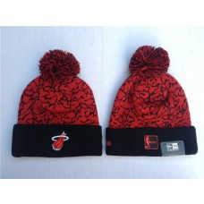 NBA Miami Heat New Era Beanies Knit Caps Hats