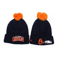 New Era MLB Baltimore Orioles Beanies Knit Hats 060
