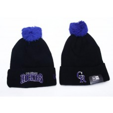 New Era MLB Colorado Rockies Beanies Knit Hats 064