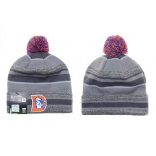 NFL DENVER BRONCOS BEANIES Fashion Knitted Cap Winter Hats New Era Grey