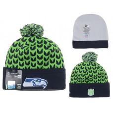 NFL SEATTLE SEAHAWKS BEANIES Fashion Knitted Cap Winter Hats New Era 359