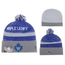 NHL Doronto Maple Leafs Beanies Mitchell And Ness Knit Hats Blue Gray
