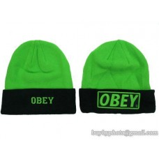 OBEY Beanies No Ball Green Black (34)