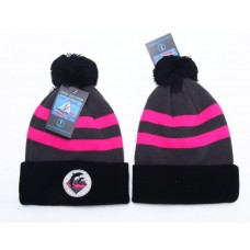 Pink Dolphin Beanies Knit Hats The ball hat pearl knitting hat 002