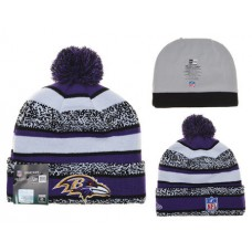 NFL Baltimore Ravens New Era Beanies Stripe Knit Hats 02