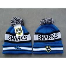 SHARKS Beanies Hats NRL Knit Hats