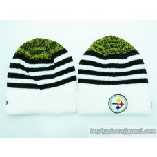 Steelers Beanies Knit Hats White (16)