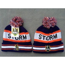 STORM Beanies Hats NRL Knit Hats
