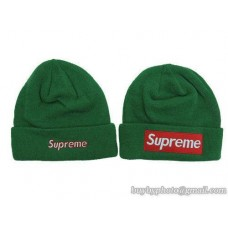 Supreme Beanies Knit Hats Green 133