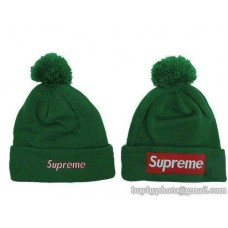 Supreme Beanies Knit Hats Green 135