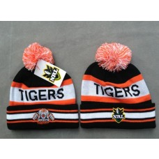 TIGERS Beanies Hats NRL Knit Hats