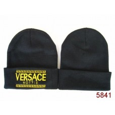 VERSACE Beanies Knit Hats Black 001