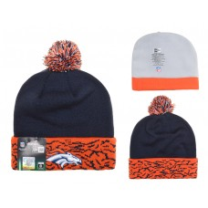 NFL Denver Broncos Beanies Knit  Hats Black
