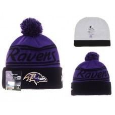 NFL Baltimore Ravens New Era Beanies Stripe Knit Hats 03